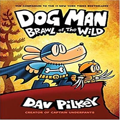 PRE-ORDERDog Man: Brawl of the Wild: From the Creator of Captain Underpants 6