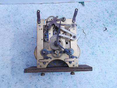 German Mantel or Wall 8 Day Clock Movement Spares Repair