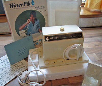 Vintage Teledyne Water Pik  Oral Irrigating Appliance  Unused in Original Box