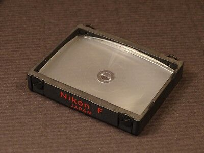 "Nikon F/ F2  Focusing Screen Type ""K"" (Split Image) - Clean and Checked"