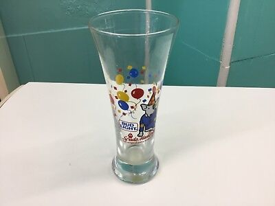 Vintage 1987 Spuds MacKenzie Bud Light Pilsner Beer Glass~ Original Party Animal