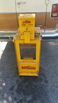 The National Sports Daily Newspaper Coin Operated Sidewalk Vending Machine! Rare