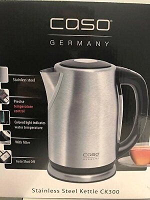 Electric Tea Kettle Hot Water Stainless Steel Cordless Pot Fast Boiler Kitchen