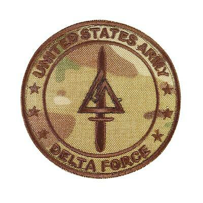 call of duty COD delta force multicam special forces SFODA-D fastener patch