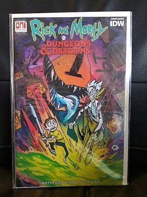 Rick and Morty vs. Dungeons & Dragons #1 variant PAX West
