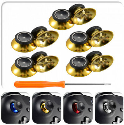 Chrome Replacement Button Analog Thumbsticks for Xbox One Controllers Universal
