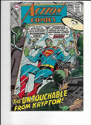 Action Comics #364 Very Fine 8.0