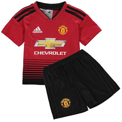 Manchester Utd Home Away Kids Child Youth Kit Shirt 2018/19 NEW