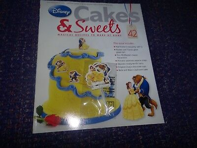 Eaglemoss Disney Cakes & Sweets Magazine #42 with Partial Free Gift