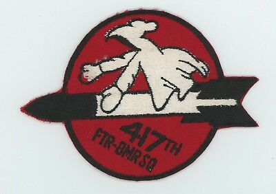 US Air Force 417th Fighter Bomber Squadron patch 1953-1958