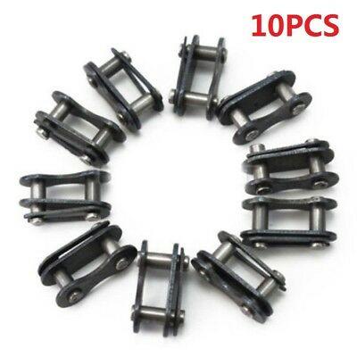 10PCS Steel Bicycle Bike Single Speed Quick Chain Master Link Connector Repair