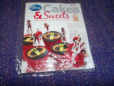 Eaglemoss Disney Cakes & Sweets Magazine #36 with Free Gift