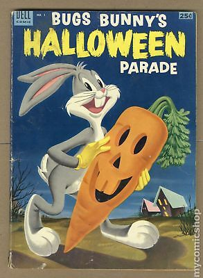 Dell Giant Bugs Bunny's Halloween Parade #1 1953 GD 2.0