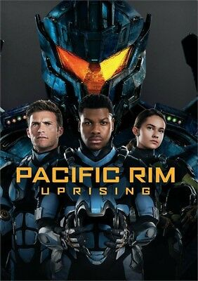 Pacific Rim Uprising (DVD, 2018)