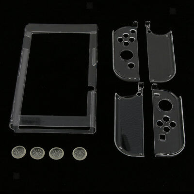 Transparent Clear Shockproof Protective Hard Case Cover for Nintendo Switch