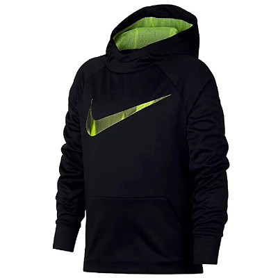 New Nike Boys Legacy Torrent Swoosh Hoodie, Size Small