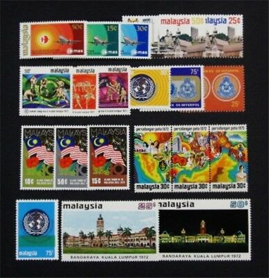 nystamps British Malaysia Stamp # 92 // 112 Mint OG NH $30