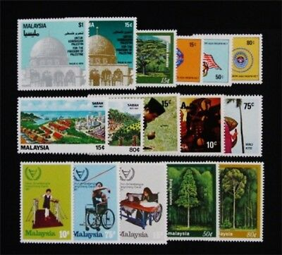 nystamps British Malaysia Stamp # 215 // 246 Mint OG NH $33