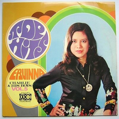 "LP ERVINNA / CHARLIE & HIS BOYS ""Top Hits Vol. 5"" Hong Kong Pop listen mp3 [vg+]"