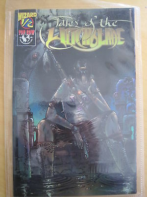 TALES of WITCHBLADE 1/2 (HALF) :1997 WIZARD EXCLUSIVE, ACETATE COVER + AUTH CERT