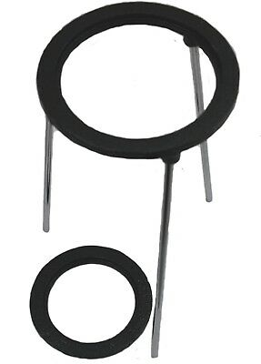 9 inch Tall Tripod Support Stand w/Set of 2 Concentric Rings