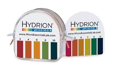 pH Hydrion Paper Double Roll  Range 1-11