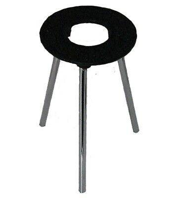 """6 Inch Tall Cast Iron Support Stand w/3.5"""" Diameter Ring"""