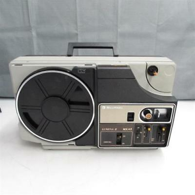 Vintage Bell & Howell Lumina II MX 43 Portable 1440 Projector UNTESTED P/R