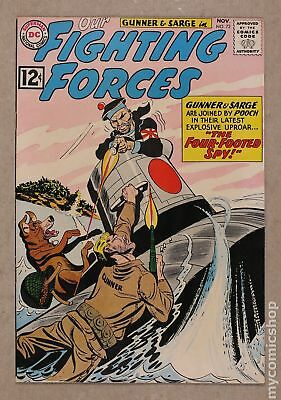 Our Fighting Forces #72 1962 VF 8.0