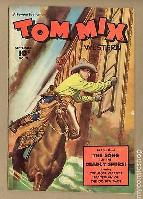 Tom Mix Western (Fawcett) #9 1948 VG+ 4.5