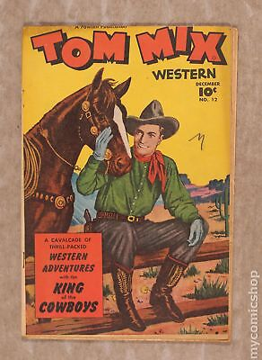 Tom Mix Western (Fawcett) #12 1948 GD 2.0