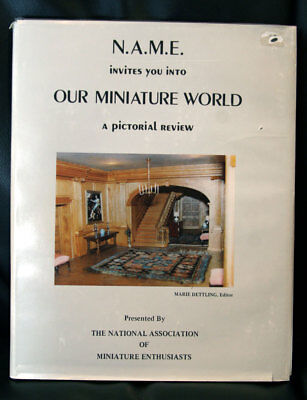 N.A.M.E. Invites You Into OUR MINIATURE WORLD Marie Dettling SIGNED #86/750 Ltd.