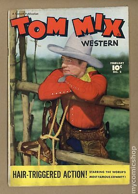 Tom Mix Western (Fawcett) #2 1948 VG- 3.5