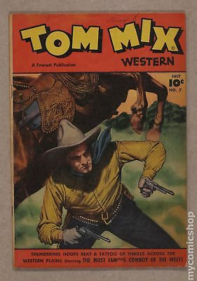 Tom Mix Western (Fawcett) #7 1948 VG 4.0