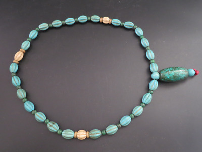 Old Chinese  jade, collectibles, Tibetan, turquoise, necklaces Y4240