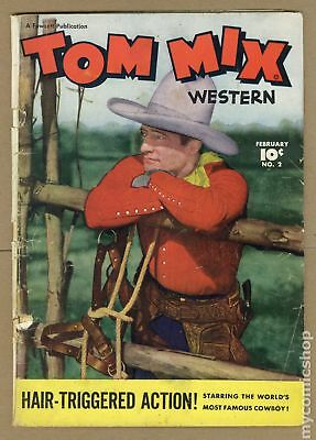 Tom Mix Western (Fawcett) #2 1948 GD- 1.8