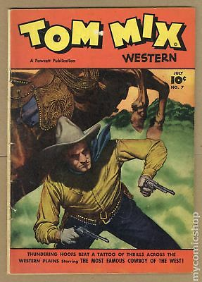 Tom Mix Western (Fawcett) #7 1948 GD/VG 3.0