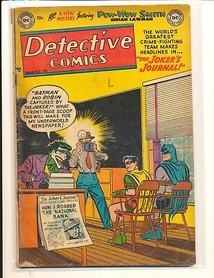 Detective Comics # 193 - Joker cover & story Good Cond.