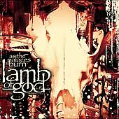 As The Palaces Burn, Lamb of God,Very Good, ### Audio CD with artwork-complete,A