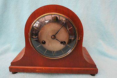 Vintage Striking Art Deco Mantel Clock For Tlc