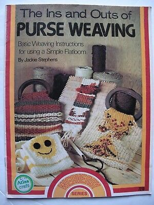 The Ins and Outs of PURSE WEAVING - BASIC FLATLOOM WEAVING by Jackie Stephens