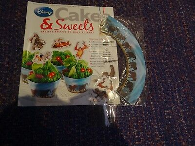 Eaglemoss Disney Cakes & Sweets Magazine #74 With Free Gifts
