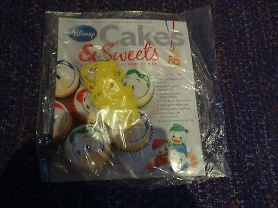 Eaglemoss Disney Cakes & Sweets Magazine #86 With Free Gift New