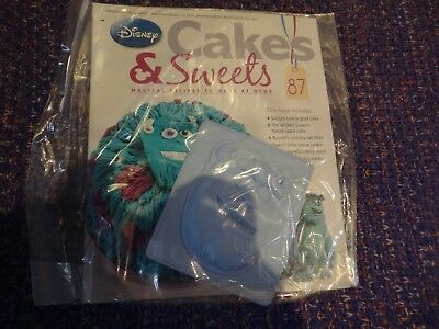 Eaglemoss Disney Cakes & Sweets Magazine #87 With Free Gift New