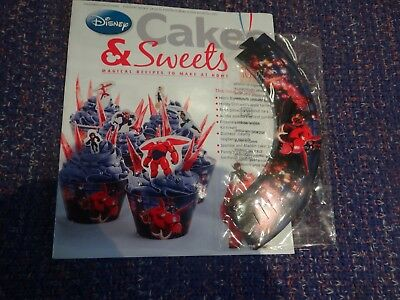 Eaglemoss Disney Cakes & Sweets Magazine #108 with Partial Free Gift