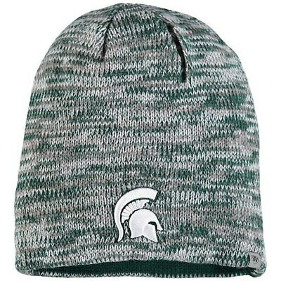 2e0d3df9f51 NWT  MICHIGAN STATE Spartans Top Of the World Tow Knit Beanie ...