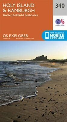 Holy Island and Bamburgh by Ordnance Survey 9780319245927