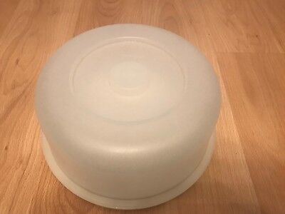 Vintage/retro Tupperware Cake Box/container With Base And Dome Lid