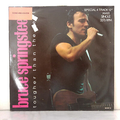 "Bruce Springsteen ‎– Tougher Than The Rest -  Vinyl, 12"", Maxi-Single, 45 RPM"