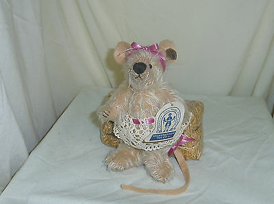 Rattina 7in Knickerbocker limited edition Mohair dressed girl mouse